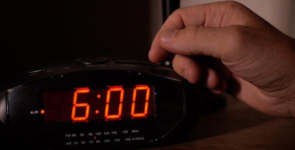 6 am alarm clock