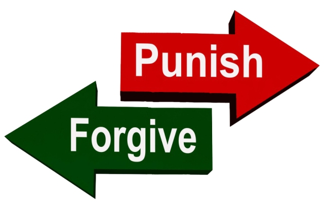 punish forgive arrows