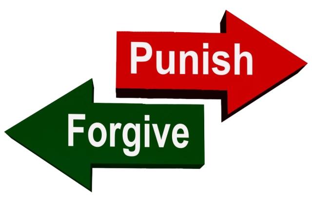punish forgive arrows
