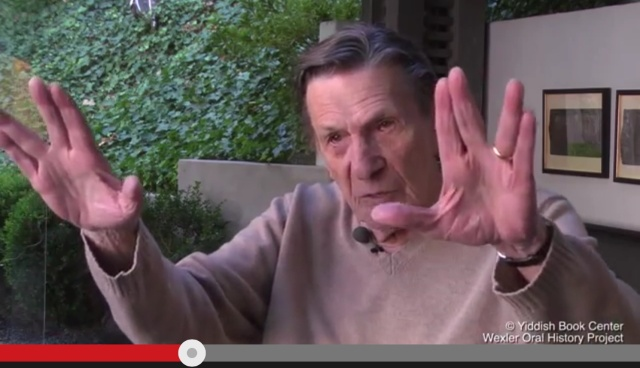Spock's Vulcan Salute